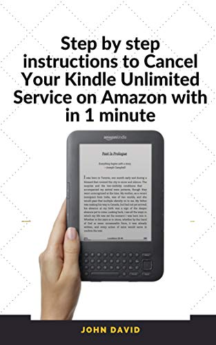 Step by step instructions to Cancel Your Kindle Unlimited Service ...