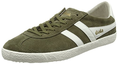 Gola Specialist, Sneaker Uomo Verde (Light Khaki/off White)