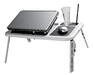 Large Lapdesk Laptop Desk Lap Tray USB Cool Pad Table