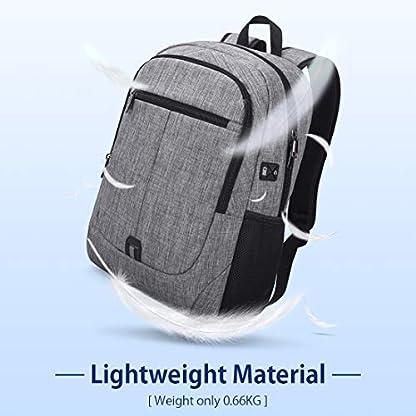 416hMwrrgyL. SS416  - NUBILY Mochila Portatil Hombre 15,6 Pulgadas Impermeable Multifuncional USB Mochila para Estudiantes Ordenador Viaje Negocio