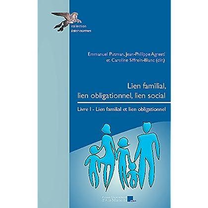Lien familial, lien obligationnel, lien social. Livre I: Lien familial et lien obligationnel (Inter-normes)