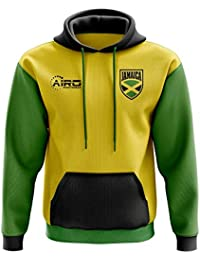 Airo Sportswear Jamaica Concept Country Football Hoody (Yellow)