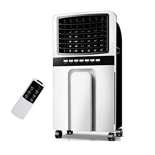 SMQIONG Bewegliche Klimaanlage Fernbedienung Kalt Ventilator Ventilator Start bewegliche Luftreinigung Luftbefeuchtung Einzel Refrigeration Fan -