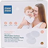 Mee Mee Washable Cotton Maternity Breast Pads (6 Pieces)