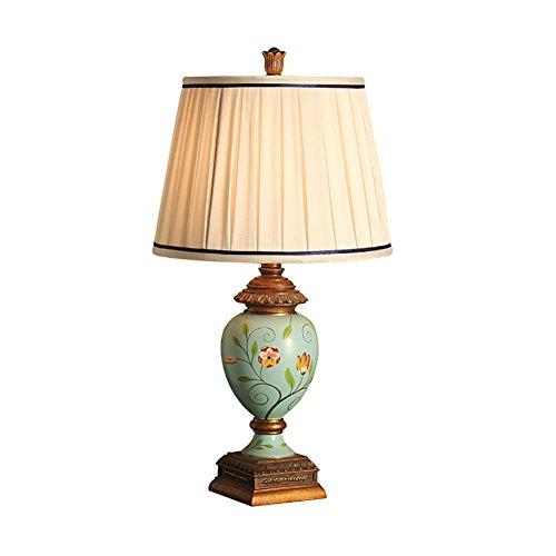 SANDM Nachttisch schreibtischlampe,Leselicht ästhetisch ansprechende Nicht flackern Edle designs Tischleuchten für wohnzimmer Kommode-C