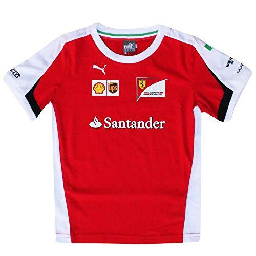 f82c0a3be32ca Puma T-Shirt Officiel F1 Grand Prix Ferrari Scuderia Enfant (100% Coton)