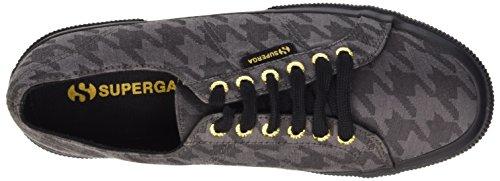 Superga Unisex-Erwachsene 2750-Cotupieddepoule Sneaker Mehrfarbig - Multicolore (C28 Pde Poule Grey)