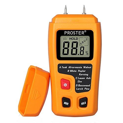 Proster LCD Igrometro Digitale Misuratore Umidità Tester Rilevatore...