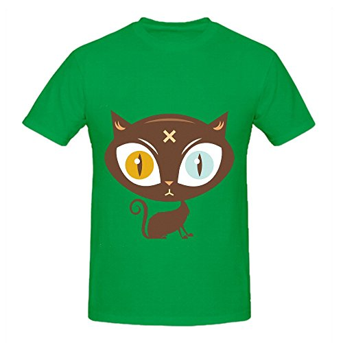 the-cat-did-it-men-o-neck-funny-tee-green
