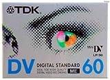 TDK VHS-C 60min. Video cassette 1 pieza(s) - Cinta de audio/video (60 min, 1 pieza(s))