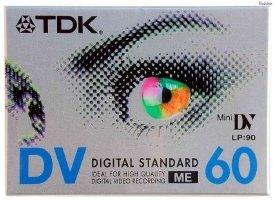 TDK EC 60 EHGEN VHS-C Video-Kassette