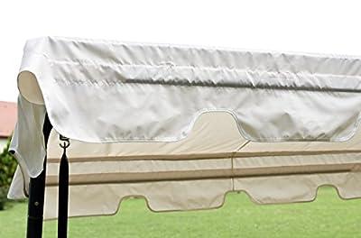 Schaukeldach Hollywoodschaukeldach Schaukeldach in beige wasserabweisend für Schaukeln 170-210cm Breite von beo auf Gartenmöbel von Du und Dein Garten