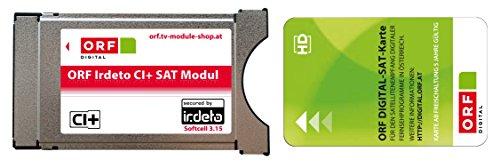 ORF Irdeto CI+ Modul inklusive ORF ICE Karte für ORF, ATV und HD Austria.