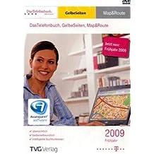 Telefonbuch, Gelbe Seiten, Map&Route Frühjahr 2009