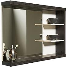 Spiegel mit beleuchtung und ablage  Suchergebnis auf Amazon.de für: badspiegel mit ablage und beleuchtung