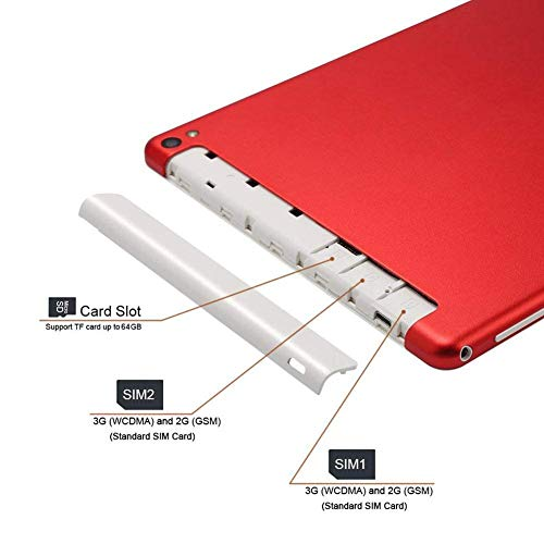 Eruditter 10,1 Zoll IPS NOOMAI 10,1 Zoll Octa Kern 3G 32G Telefon Anruf Android 7.0 WiFi GPS 2 * SIM Tablet PC 200 watt + 800 watt Phablet