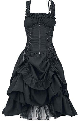 Poizen-Industries-Vestido-Soul-Vestido-Negro-XXL
