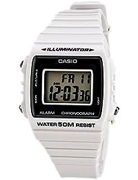 058f051ed1a7 Casio Reloj Digital para Unisex de Cuarzo con Correa en Resina W-215H-7AVEF
