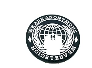 We Are Anonymous , We Are Legion PVC Airsoft Fan Patch