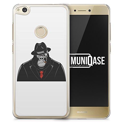 ardcase Handy Hülle für Huawei P8 lite 2017 - Schutz Case Cover Case Schale Suit Anzug Mafia Fun ()