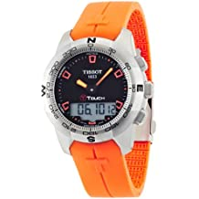 Tissot T-TOUCH T0474201705101 - Reloj de caballero de cuarzo, correa de acero inoxidable color gris