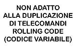 TELECOMANDO PER CANCELLO UNIVERSALE AUTOMATICO A 433,92 MHZ FAAC, NICE, ETC 2 PEZZI