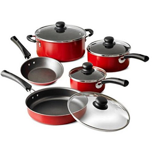 Tramontina 9-Piece Simple Cooking Nonstick Cookware