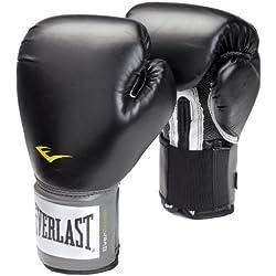 Everlast Velcro Pro Style Gants de boxe 8oz Noir