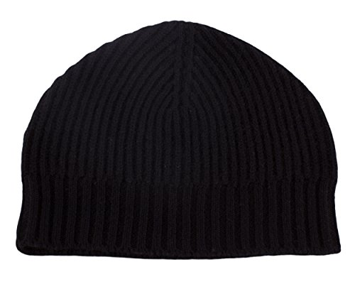 mens-ribbed-100-cashmere-beanie-hat-black-made-in-scotland-by-love-cashmere