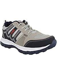 ADR Grey & Blue Color Running Sports Shoes for Mens