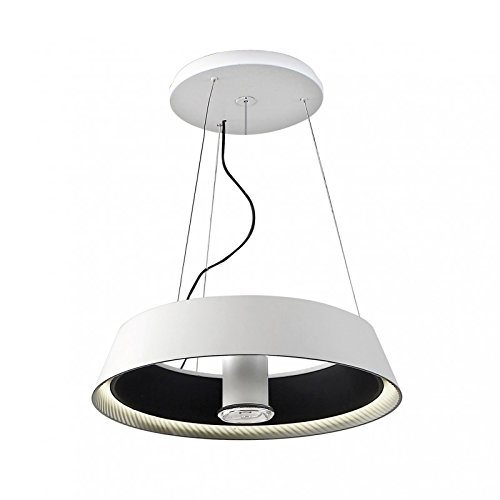LEDS-C4 Ringofire – luminaire Ringofire LED 41 W blanc