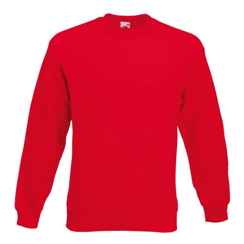 Fruit Of The Loom Unisex Premium 70/30 Sweatshirt (S) (Rot) F324N bestellen!!