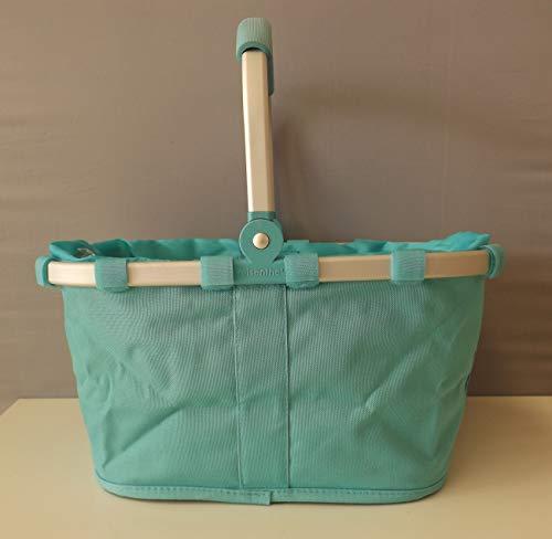 Reisenthel Carrybag XS KC0105 türkis blau Kinder-Mädchen-Jungs-Geschenk-Idee-Einkaufs-Picknick-Korb Kleiner Einkaufskorb Children Bag