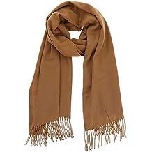 a03adfd626cd FASHIONGEN - Echarpe pashmina homme et femme douce en laine, BACHRA