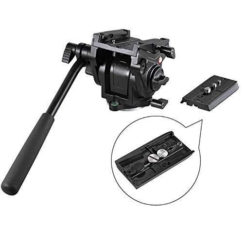 LFTS Videokamera Ptz Aluminium Alloy Fluid Trailer Hydraulikkopf 3D Stativkopf 360 ° Fotografie Digitalkamera Pan & Tilt Aufnahme Maximale Belastbarkeit 15kg