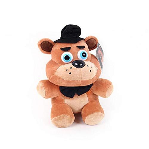 hhjxptst Plüsch Spielzeug, Fünf Nächte Bei Freddy, Alptraum, Bonnie Bär, Foxy, Werfen Plüsch, Kissen, orange (Orange Werfen Plüsch)