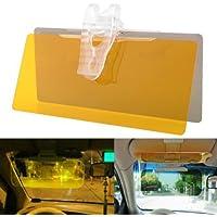ND BROTHERS HD UV Anti-Glare Universal Auto Car Flip Down Shield Sun Visor Day Night Vision