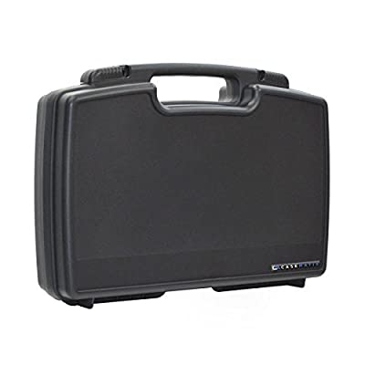 CASEMATIX Customizable Mini Drone Case For RC Quadcopters under 19cm - Holds Syma X20, EACHINE E58, Holy Stone Predator Mini HS170, Parrot Airborne Night and More with Drone Accessories