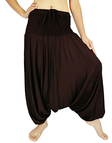 Miss Arika Damen Hose One size  Gr. One size , braun (Flare Knit Skirt)