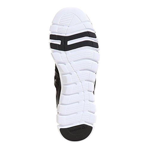 Reebok Sublite Xt Cushion Mt, Chaussures de Running Entrainement Homme, Noir Noir / blanc / gris (noir / blanc / alliage / gris mat)