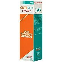 Cutered Sport Olio Defaticante Arnica • Recupero Muscolare • Arnica, Olio Di Menta Piperita, Estratto Di Tè Verde • Ideale Per Massaggio Post Gara
