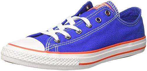 Converse Unisex-Kinder CTAS OX Hyper ROYAL/Bright Poppy/White Fitnessschuhe, Blau 483, 26 EU