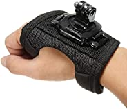 SOLDOUT™ 1 x L Size Glove Wrist Band 360 Degree Swivel Rotation Hand Strap Belt Tripod Mount Compatible With G
