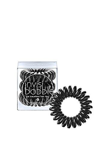 Invisibobble Original Haargummis, true black, 1er Pack, (1 x 3 Stück) (Jeder Frau Kleiderschrank)