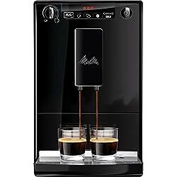 Melitta 950-222 - Cafetera automaticá (1.2L, 15 bar, 1400 W), con molinillo integrado, negra