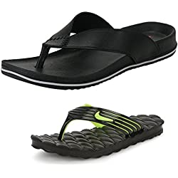 RSV men's black pvc slippers-7