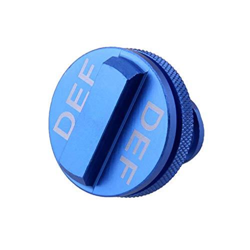 Fangfeen Def riparata Olio Tappo di Copertura Diesel cap di Ricambio per 2013-2017 Dodge RAM Blu in Lega di Alluminio Accessori Auto