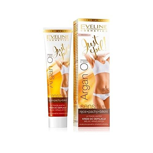 Eveline Just Epil 9in1 Arganöl Haarentfernungscreme für Bikini und Achseln 125 ml