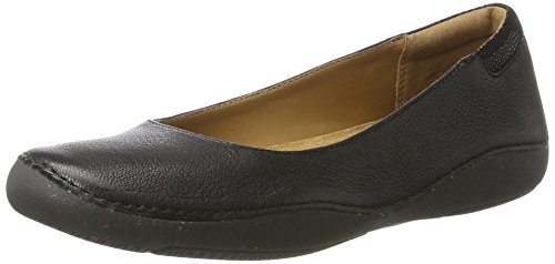 clarks-autumn-sun-womens-ballet-flats-black-black-leather-5-uk-38-eu