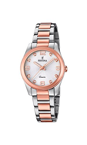 Festina Womens Analogue Classic Quartz Watch with Stainless Steel Strap F20209/2